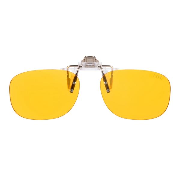 PRiSMA CLiP-ON bluelightprotect LiTE - Blueblocker Brillenaufstecker - Brillenaufsatz - CP704