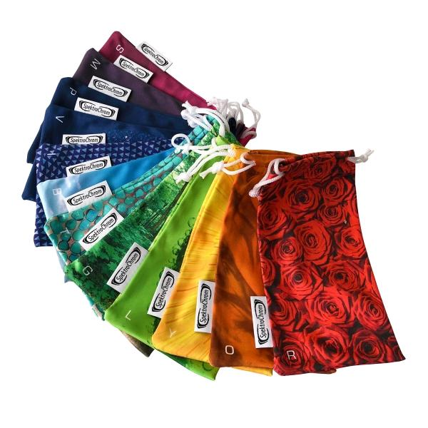 Mikrofaser-Taschen Set 12 SpektroChrom Farben