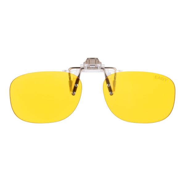 PRiSMA Gamer CLiP-ON bluelightprotect EASY - Blueblocker Brillenaufstecker - Brillenaufsatz - CP702
