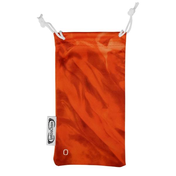 Microfiber glasses pouch - Orange (O)