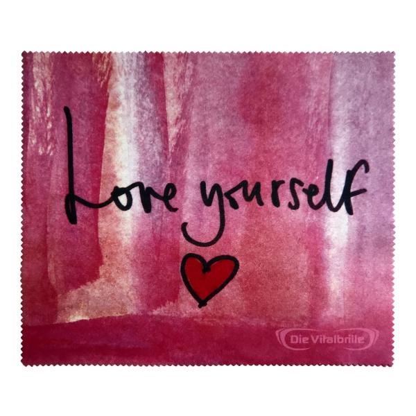 Mikrofaser-Reinigungstuch Love yourself