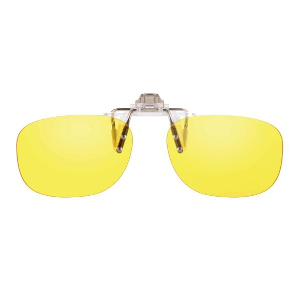 PRiSMA CLiP-ON DRiVE Day&Night - Blueblocker Autofahrer Brillenaufstecker - Brillenaufsatz - CP923D