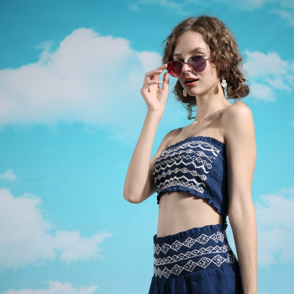PRiSMA Sonnen-Brille FLORENZ - Sunblocker-Brille - TenderSun Rot - ENERGY - FL510