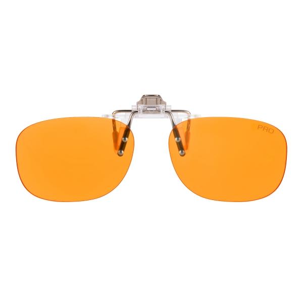 PRiSMA CLiP-ON bluelightprotect PRO - Blueblocker Brillenaufstecker - Brillenaufsatz - CP709