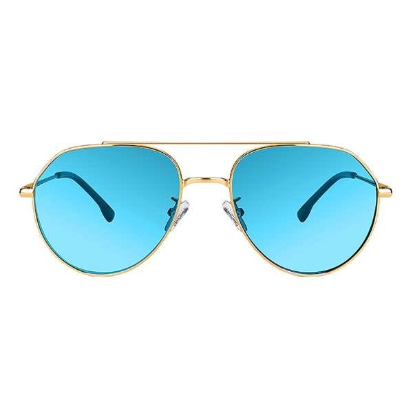PRiSMA Sonnen-Brille FLORENZ - Sunblocker-Brille - SunProtect Blau - INTUITION - FL480