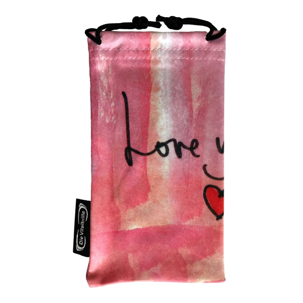 Mikrofasertasche Rosa (Love yourself)