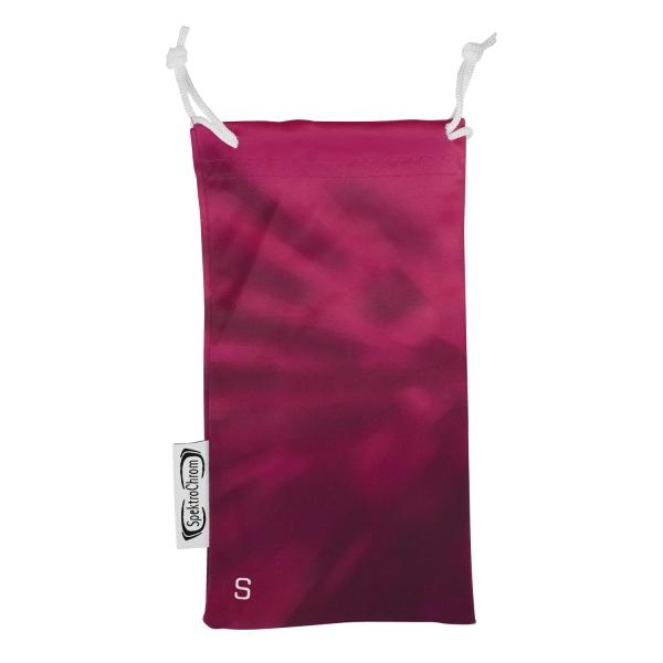 Microfiber glasses pouch - Scarlet (S)