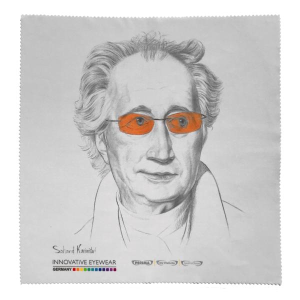 Mikrofaser-Reinigungstuch (groß) Goethe
